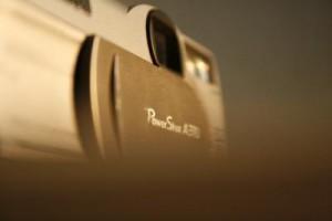 Alte Kompaktkamera von Nikon