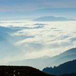 Panorama Bild schießen in der Natur
