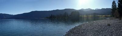 Panorama Bild vom Walchen See