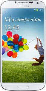 Galaxy S 4 Front Weiß