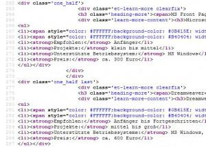 HTML Code Beispiel