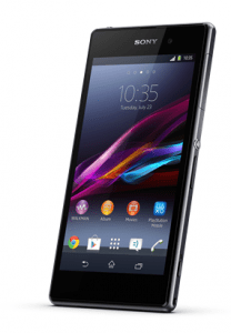 Sony Xperia Z1 Front Ansicht
