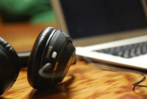 Firmenseminar Kopfhörer Webinar