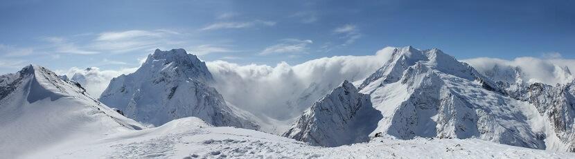 Winterpanorama Fotografie