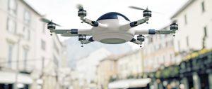 Drohnen in der Stadt