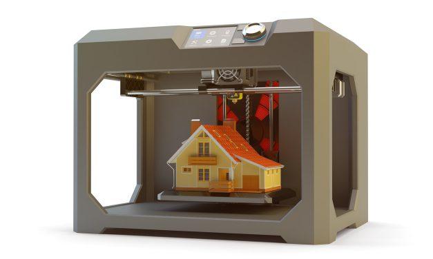 Haus aus dem 3D-Drucker: Neue Technik mit Potenzial?