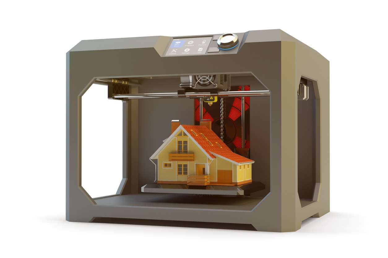 3D-Drucker Haus Prototyp