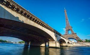 Urlaubsfotos Tipps: Der Eiffelturm von unten fotografiert