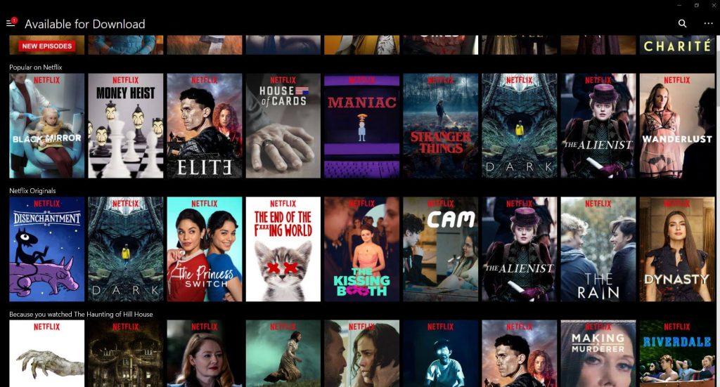 Netflixserien